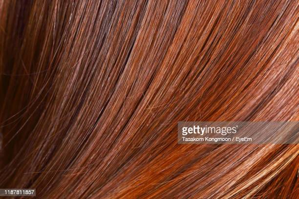 full frame shot of woman hair - hair stock pictures, royalty-free photos & images