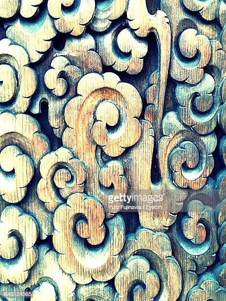 full frame shot of wood art - carving craft product stock pictures, royalty-free photos & images