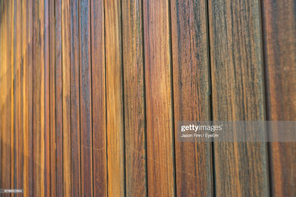 Full Frame Shot Of Wood Paneling Stock Photo | Getty Images