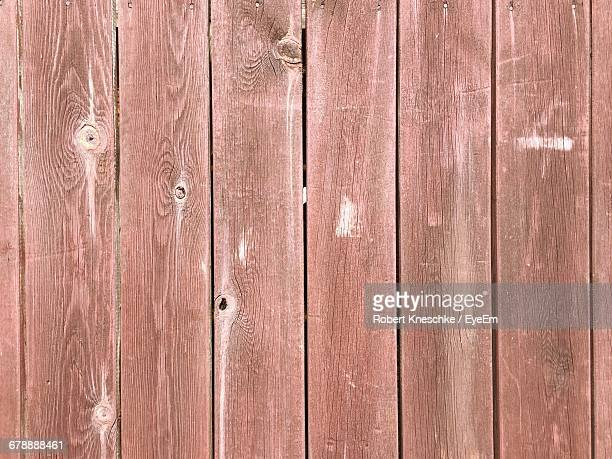 Full Frame Shot Of Wooden Fence