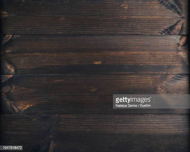 full frame shot of wooden floor - dark stock pictures, royalty-free photos & images
