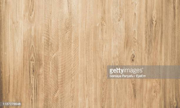 full frame shot of wooden floor - wood material stock pictures, royalty-free photos & images