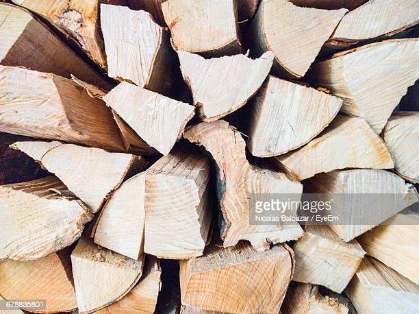 Full Frame Shot Of Wooden Logs