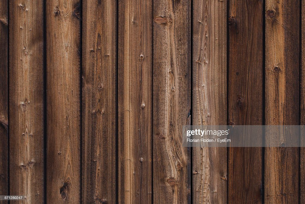 Full Frame Shot Of Wooden Plank Stock Photo | Getty Images