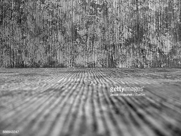 Full Frame Shot Of Wooden Wall And Floor
