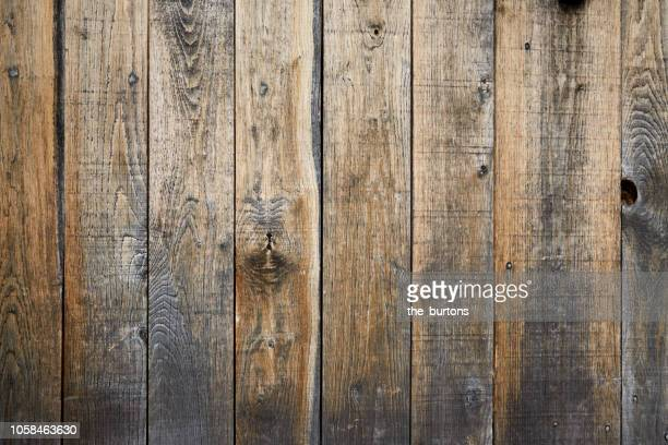 full frame shot of wooden wall - rustic stock pictures, royalty-free photos & images
