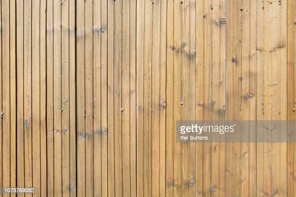 full frame shot of wooden wall - forro de madeira - fotografias e filmes do acervo