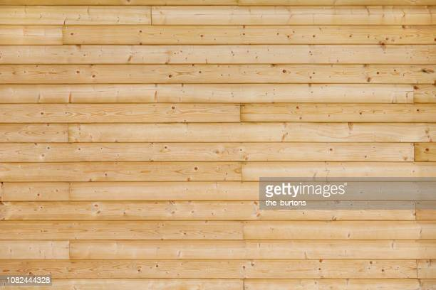 full frame shot of wooden wall - plank timber stock pictures, royalty-free photos & images