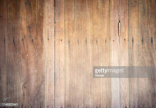 full frame shot of wooden wall - george wood stock pictures, royalty-free photos & images