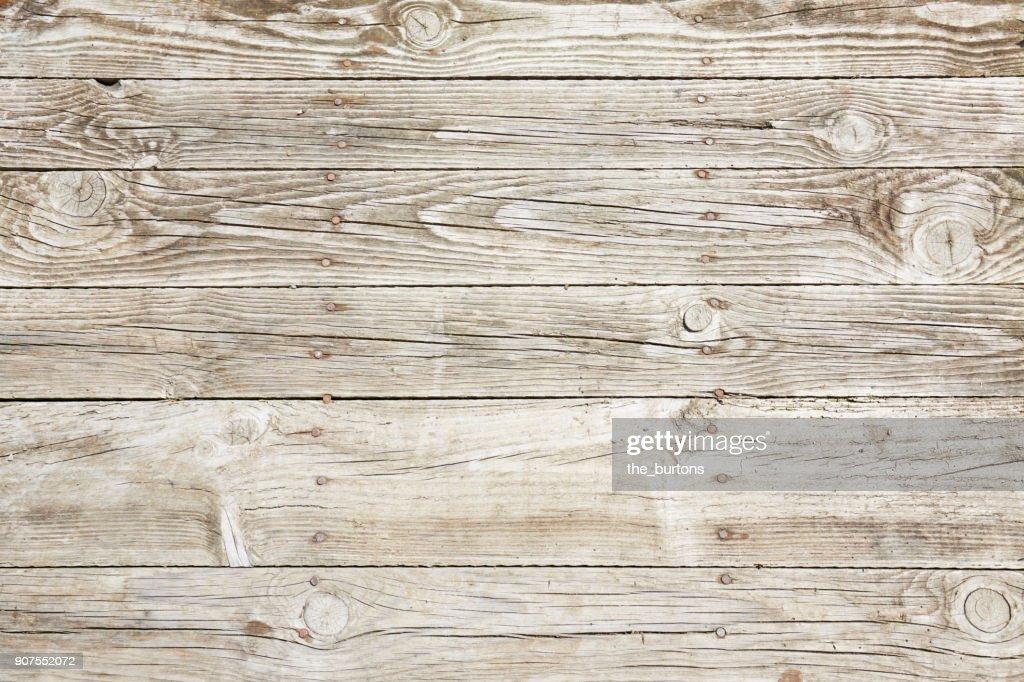 Full frame shot of wooden wall : Stock Photo