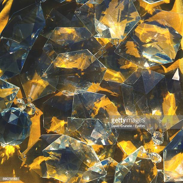 full frame shot of yellow amethyst - quartzo - fotografias e filmes do acervo