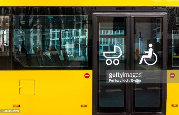full frame shot of yellow bus - bus stock pictures, royalty-free photos & images