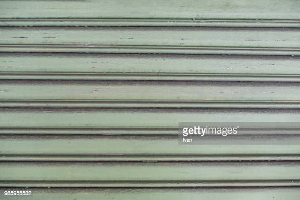 Full Frame texture, Green Shutter Textured Roll-Up Door