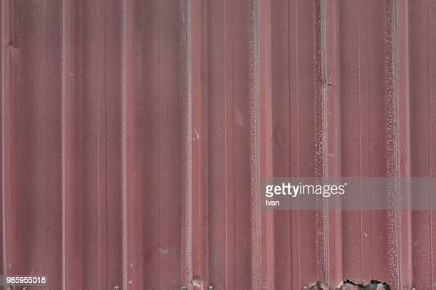 Full Frame texture, Red Shutter Textured Roll-Up Door