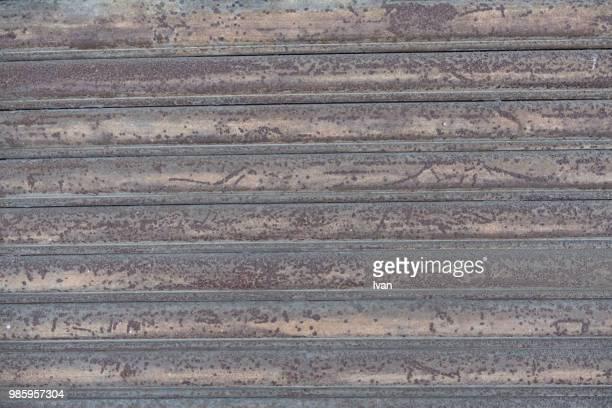 Full Frame texture, Rusty Shutter Textured Roll-Up Door