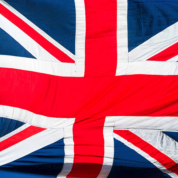 Full frame view of the Union Jack flag