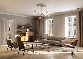 Full Furnished living Room