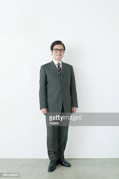 Full lenghth of businessman