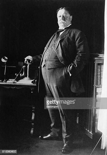 Full length figure of William Howard Taft Undated photo