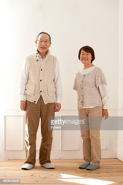 Full length of senior couple, portrait