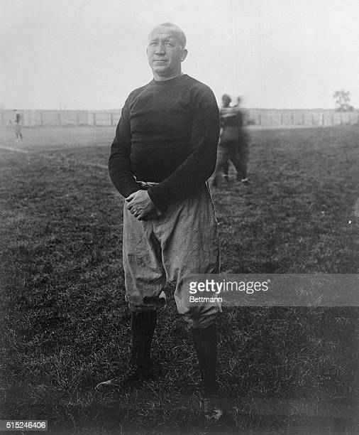 Full length photo of Knute Rockne Notre Dame football coach Undated photograph