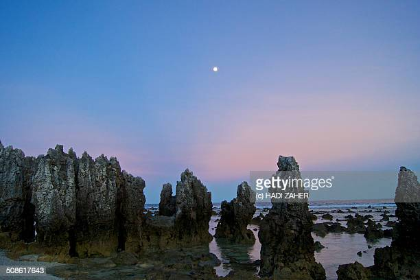 Full Moon at the Rocks | Anibare Beach | Nauru