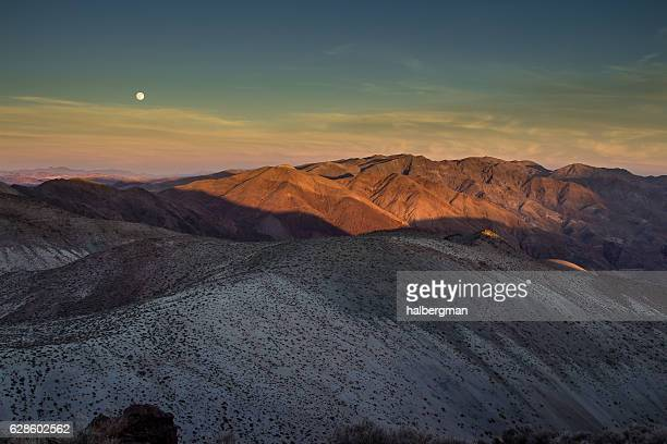 Full Moon Over Death Valley