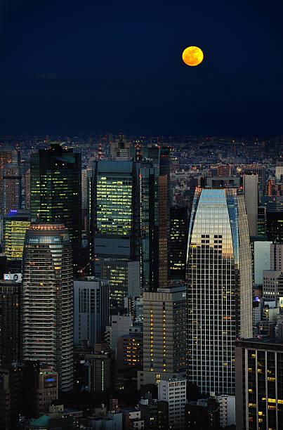 Full Moon over Tokyo