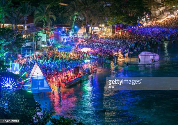Full Moon Party, Haad Rin Beach, Koh Phangan, Thailand