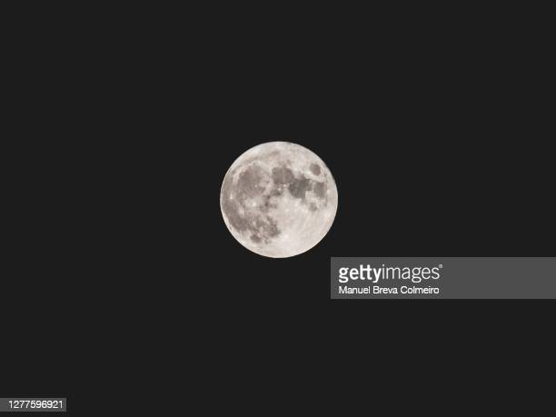 full moon - benicassim stock pictures, royalty-free photos & images