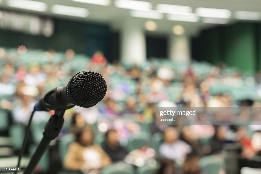 Full of Audience : Stock Photo