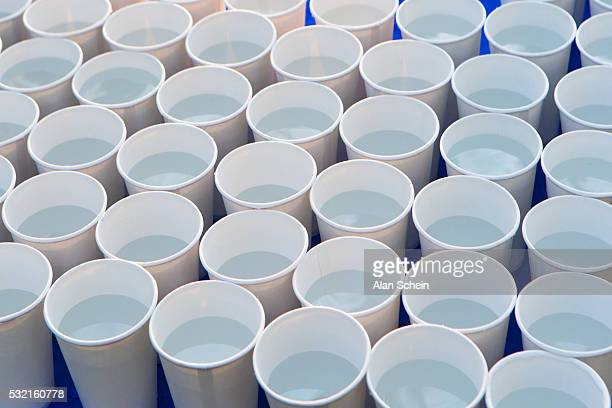 full  paper water cups