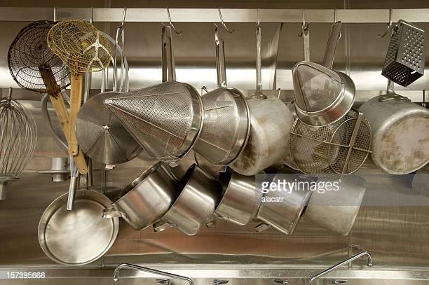 Pot Rack, Cuisine professionnelle