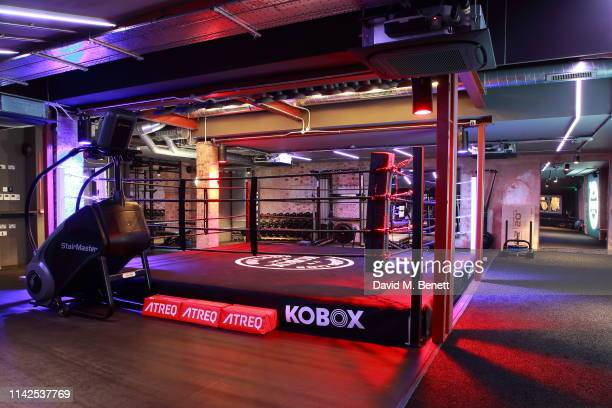Full range shots for newconcept gym at KOBOX Boxing Club on King's Road on May 10 2019 in London England