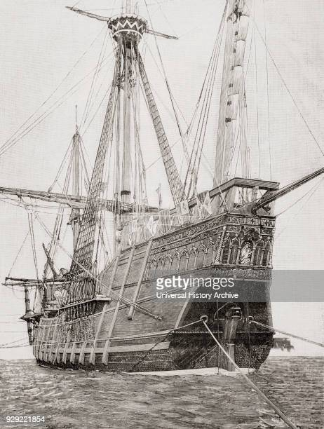 replica santa maria ship ストックフォトと画像 getty images