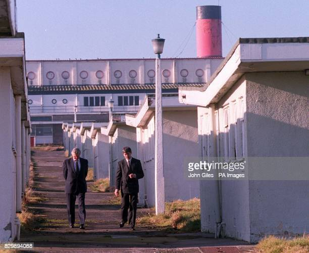 Full Steam ahead as Richard Tilt the Director General of the Prison Service and Trevor Williams who is looking after Emergency Prison accomodation...