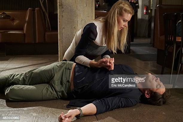 STITCHERS 'Full Stop' A shooting leaves Detective Fisher in ICU and Kirsten on the hunt for the cause in the summer finale of 'Stitchers' airing...