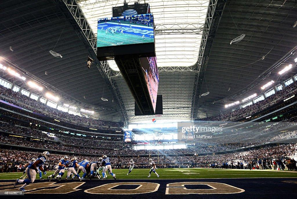 Wild Card Playoffs - Detroit Lions v Dallas Cowboys : Foto jornalística