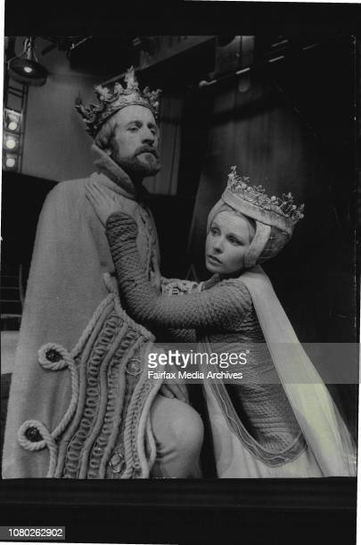 A fulldress fehearsal of the play 'Richard II' was held today at the Sydney Opera HouseIt will be the first production of the Old Tote Theater...