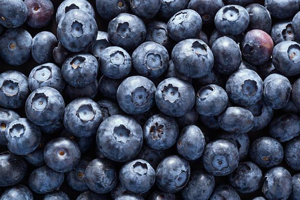 fullframe shot of blueberry - 藍莓 個照片及圖片檔