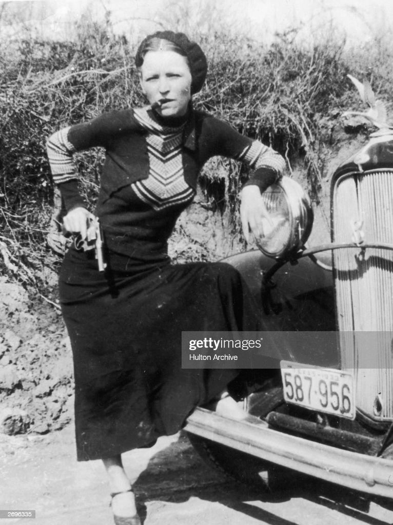 Bonnie Parker : Nachrichtenfoto