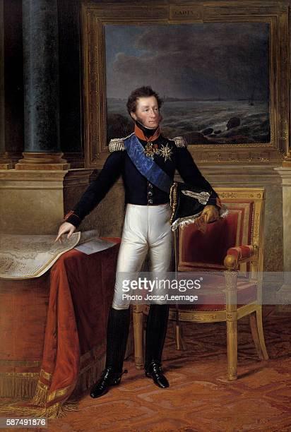 Fulllength portrait of Louis Antoine d'Artois Duke of Angouleme General of the Army of Spain Painting by FrancoisJoseph Kinson 1825 275 x 18 m Castle...