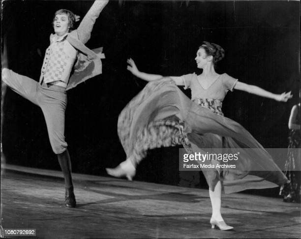 A fulls dress rehearsal of the Prodigal Son a ballet to be performed by the London Festival Ballet in ragtime will open at the Capital Theatre...