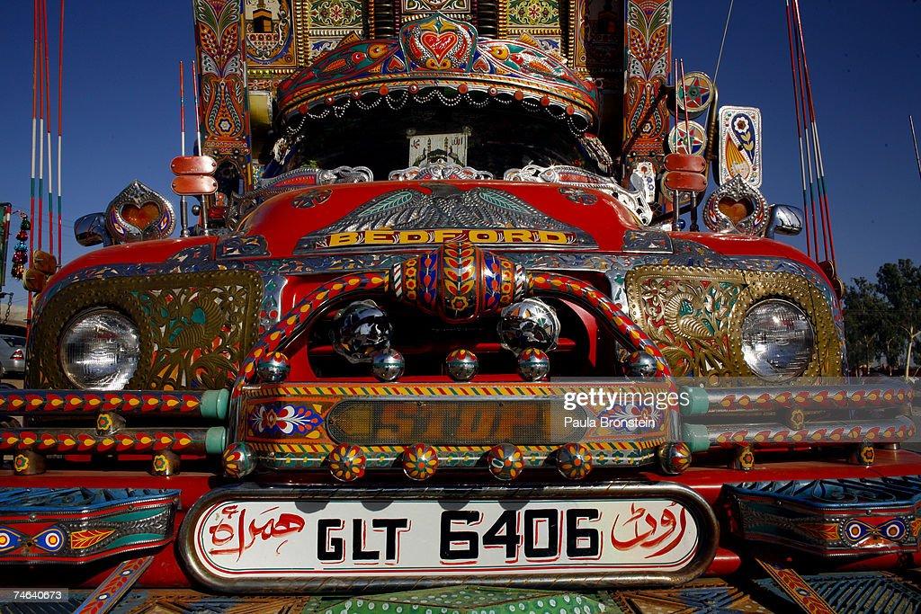 Elaborate Truck Art Of Pakistan : News Photo