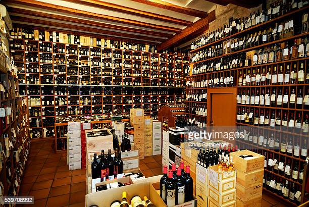 Fully Stocked Wine Shop