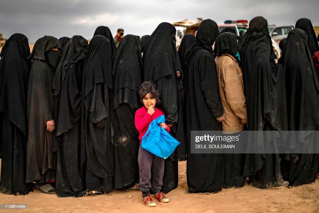 TOPSHOT-SYRIA-CONFLICT-BAGHOUZ : News Photo