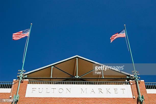 fulton market - ニューヨーク郡 ストックフォトと画像