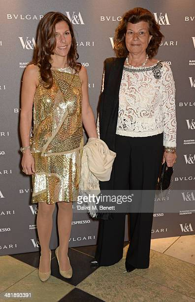 Fulvia Visconti Ferragamo attends a private dinner celebrating the Victoria and Albert Museum's new exhibition 'The Glamour Of Italian Fashion 1945...