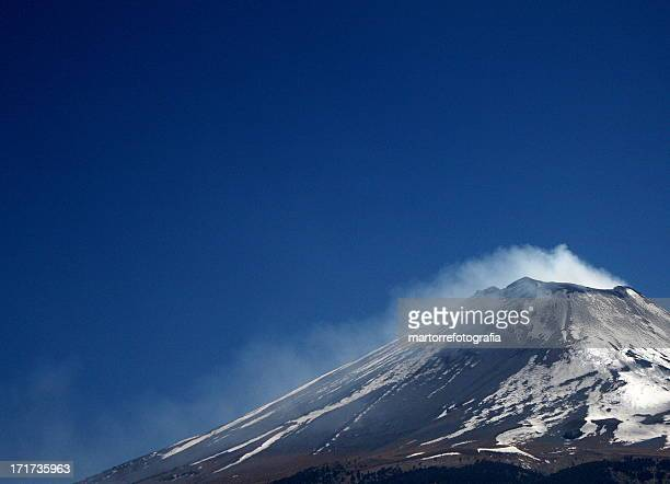 fumarole - puebla state stock pictures, royalty-free photos & images