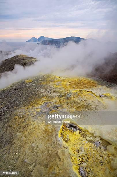 Fumaroles - Vulcano island - Sicily